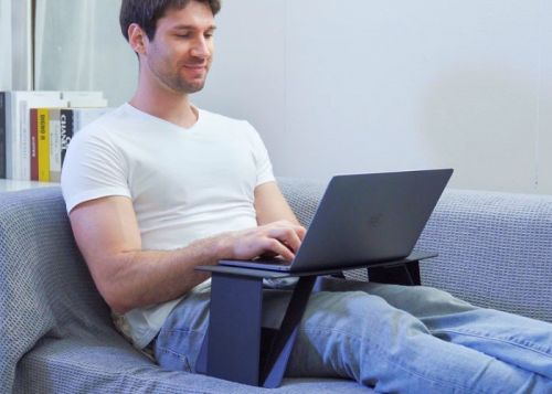 ISwift Pi folding, lightweight laptop desk perfect for bed or couch from $69