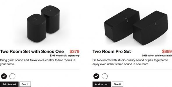 Sonos Announces 13 New Speaker Bundles, Starting At $379