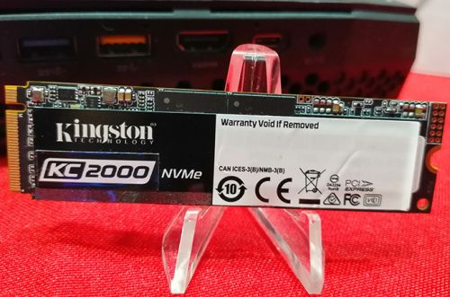 CES 2019: New Kingston KC2000 NVMe SSDs for High Performance