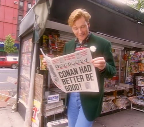 Conan O'Brien's complete late-night TV archive will be posted online in January