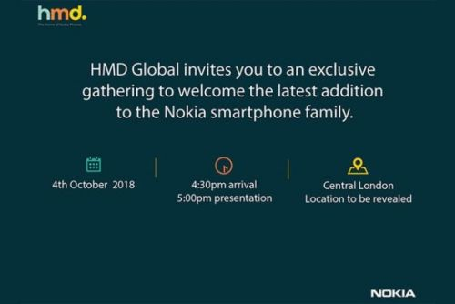 Nokia Sends Invites For A New Phone Launch On October 4th