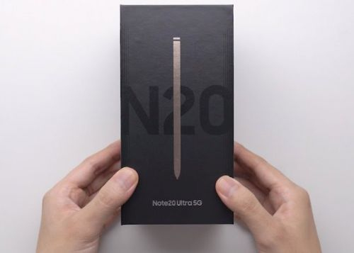 Galaxy Note20 Ultra unboxing