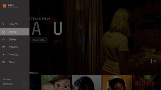 Netflix Redesigns TV Apps With Side Bar Interface Housing My List, Search, and More