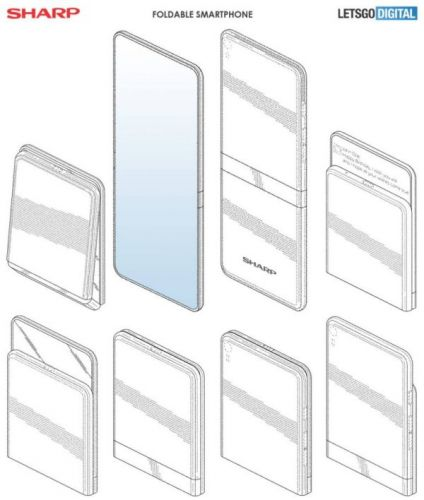 Sharp May Soon Join The Foldable Smartphone Craze