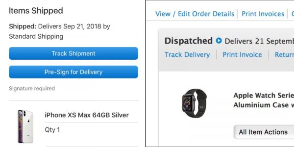 Apple Store iPhone XS and Apple Watch Series 4 orders now shipping ahead of Friday launch