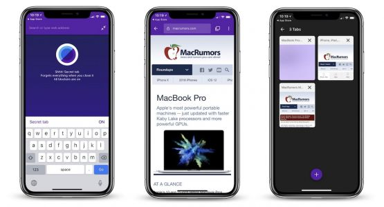 'Keepsafe Browser' Launches on iOS With Tracker Blockers, Secret Tabs, Touch ID/Face ID Log-Ins, and More
