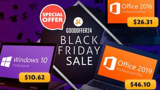 Black Friday Presale: 30% extra discount on ALL Software - plus 40% OFF code for Office 2019 products!