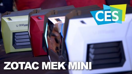 Zotac's Mek Mini: Big Things Come in Small Packages at CES 2019