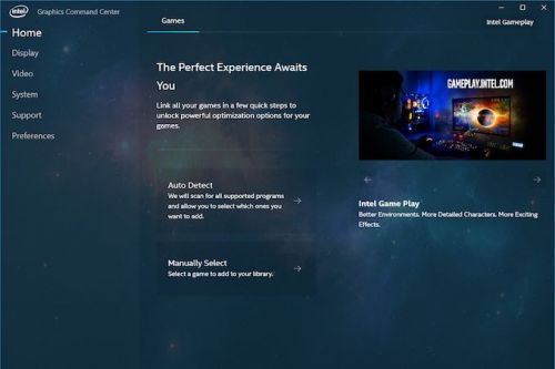 Intel Releases New Graphics Control Panel: The Intel Graphics Command Center