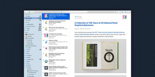 NetNewsWire for iPhone and iPad adds iCloud sync, Twitter and Reddit integration, more