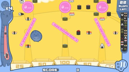 The Adorable Sushi Cat Returns to Mobile with 'Sushi Cat: Word Search Game' Launching Next Week