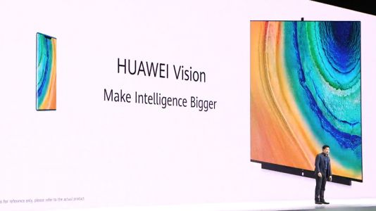 Huawei announces Huawei Vision 4K TV with pop-up camera